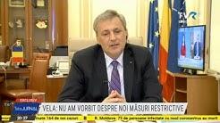Tema zilei cu Marcel Vela: Despre măsurile de relaxare care vor fi luate după 15 mai (@TVR1)