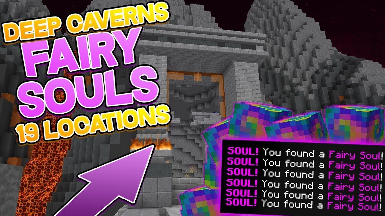 Hypixel Skyblock - Fairy Souls - Deep Caverns | Hypixel - Minecraft