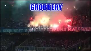 SCHALKE 04 CHANTS AMAZING FANS / ULTRAS in Salzburg Europa league 8.12.16