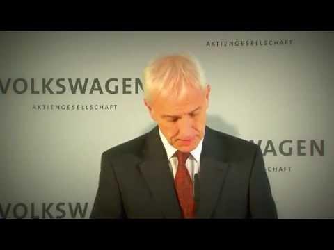 Statement Matthias Müller, CEO of Volkswagen AG - ENG