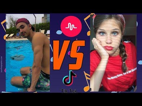 SHAY BAR VS. MARY JELENIEWSKA MUSICAL.LY COMPETITION (R.I.P Musical.ly)