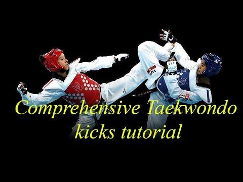Taekwondo kicks techniques tutorial (comprehensive guide) - taekwondo traininng - kicks sparring