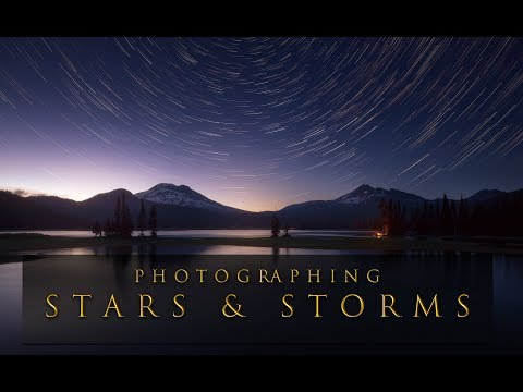 Stars and Storms in Central Oregon - Landscape Photography on location