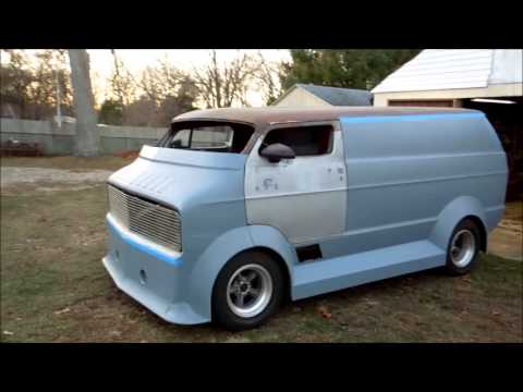 1977 chopped dodge Radical van - YouTube