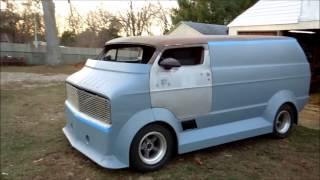 1977 chopped dodge Radical van