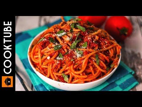 Tomato Basil Spaghetti | Best Italian Pasta Recipe