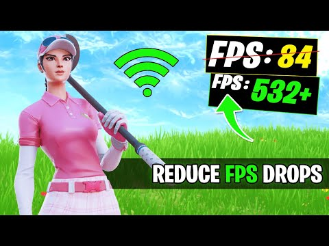 Fix Stutters & Reduce FPS FRP Drops In Fortnite Season 2! - Chapter 2 FPS Guide!
