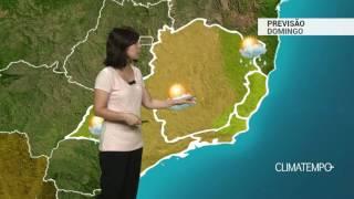 Previsão Sudeste – Ar seco e muito quente