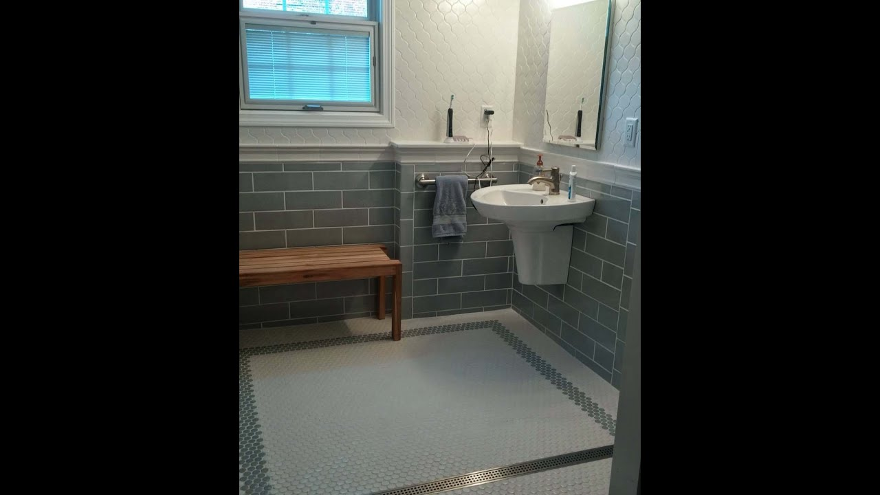Schluter systems bathroom with walker zanger tile slide show schluter systems bathroom with walker zanger tile slide show studs to tile youtube dailygadgetfo Gallery