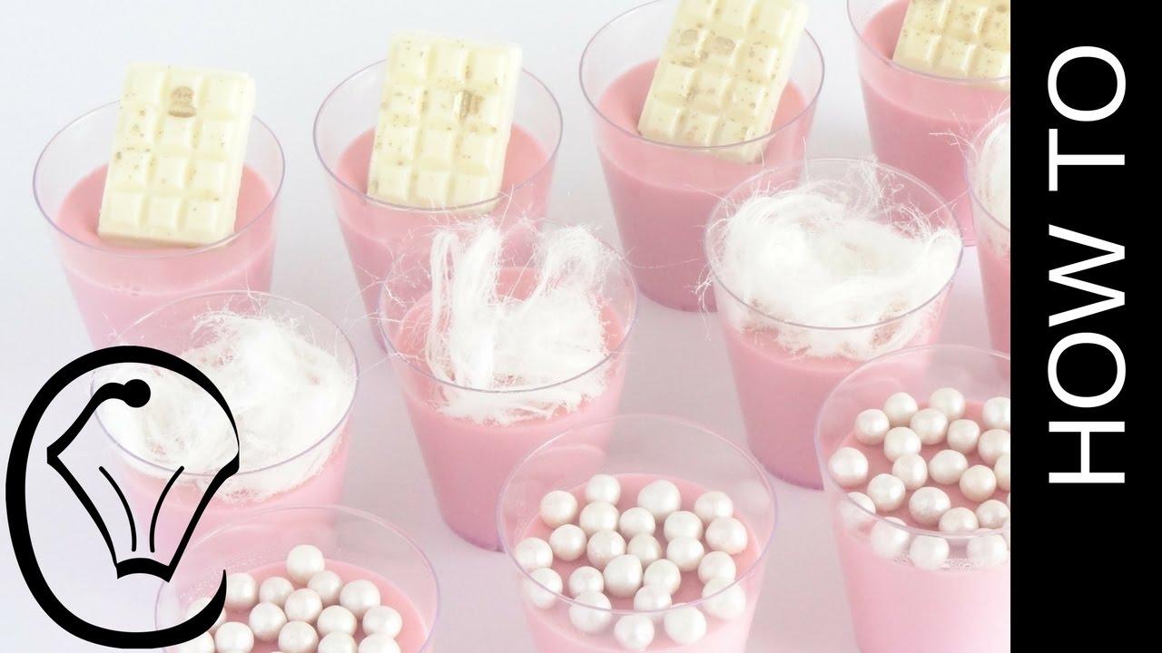 Cotton Candy Panna Cotta Shot Glass Mini Dessert by Cupcake Savvy\'s ...