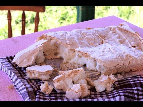 Bele sušene kore za tortu - Beze kore - Šerpicina škola kuvanja
