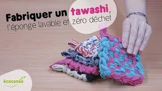 Comment fabriquer une éponge tawashi ? [DIY]