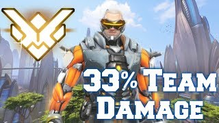 Grand Master Overwatch w/ Soldier 76 (33% Team Damage)