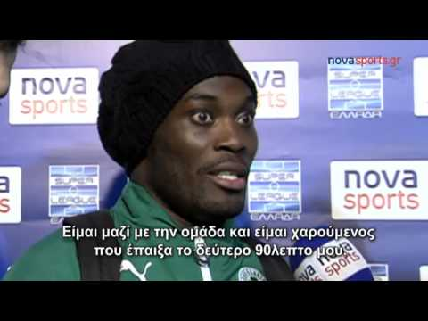 Michael Essien talks for the first time since playing for Panathinaikos