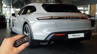 2022 Porsche Taycan Cross Turismo (490hp) - Visual Review!