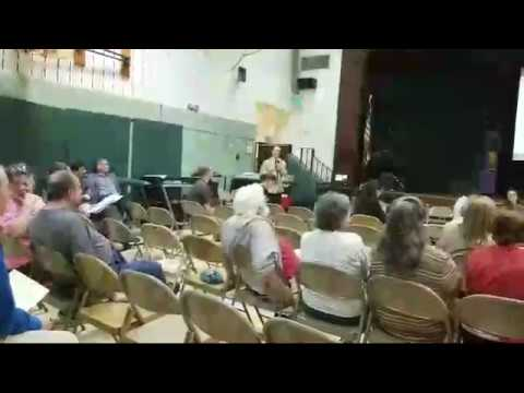 PORTION OF Q & A ON THE NEW DUNDALK ELEMENTARY SCHOOL
