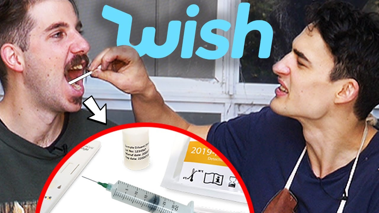 We used an ILLEGAL Covid Test from Wish!