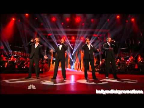 Il Divo America S Got Talent Performance Results Show Youtube