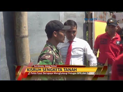 Kisruh Sengketa Tanah, Polisi & TNI Adu Mulut