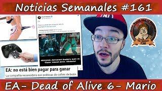 Noticias semanales #161 - ¡¡EA nos DICE que el PAY TO WIN es MALO!! - Fortnite - PUBG - DOA 6
