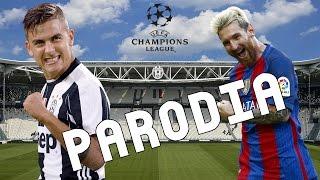 Cancion Juventus vs Barcelona 3-0 (Parodia Si Tu Novio Te Deja Sola - J Balvin ft Bad Bunny)