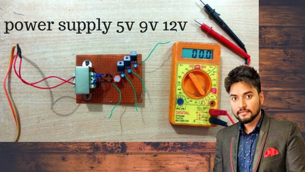 How To Make Power Supply 5v 9v 12v Multiple Composed Of Bg602 2 Powersupplycircuit Circuit