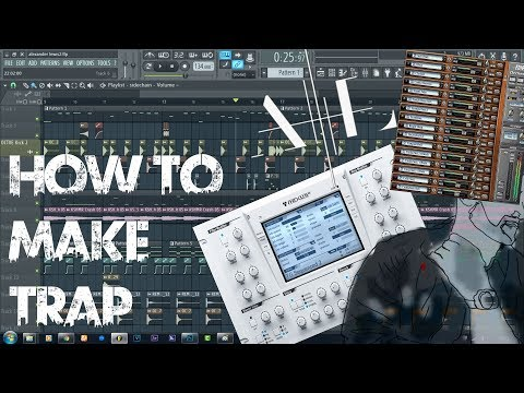 How to make a TRAP DROP like Alexander Lewis | FL Studio Tutorial |