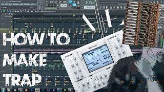 How to make a TRAP DROP like Alexander Lewis FL Studio Tutorial