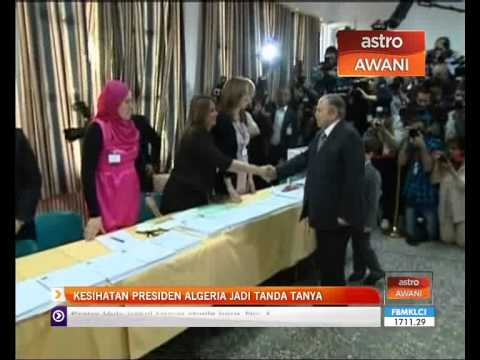 Kesihatan Presiden Algeria jadi tanda tanya