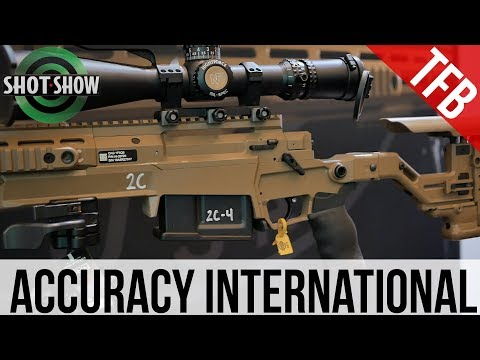 SHOT Show 2019] Accuracy International's ASR Entry and