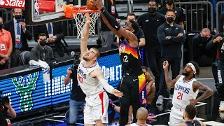 Deandre Ayton with UNREAL game winning dunk of the year ? Suns vs Clippers Game 2