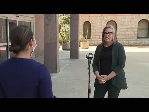 AZ Sec. of State getting threats, protesters seen at PHX home