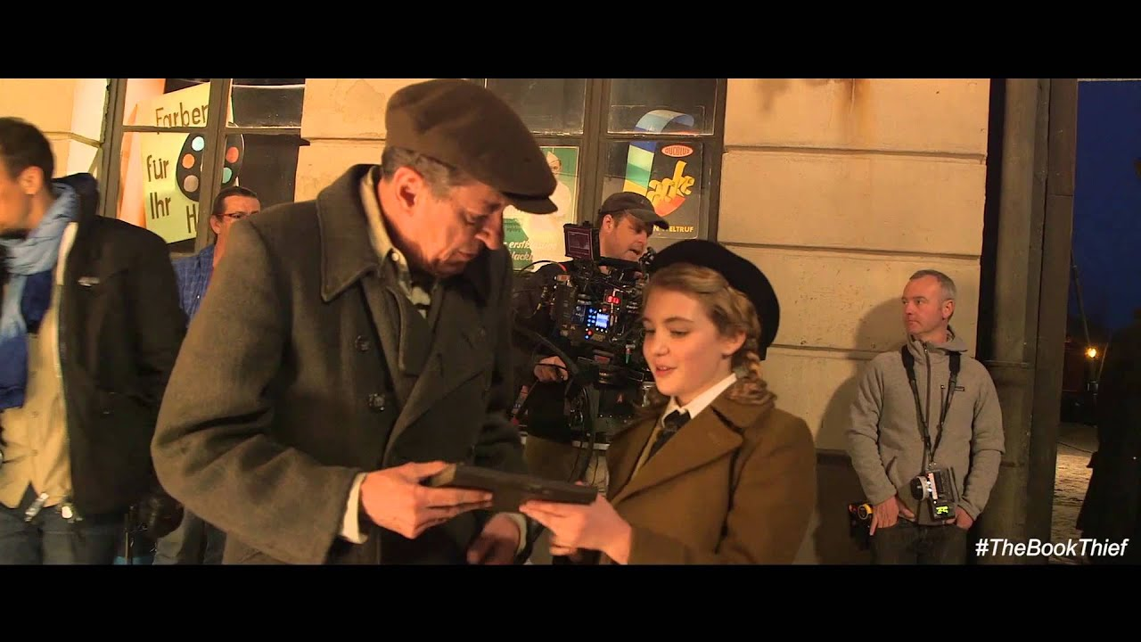 the book theif characters the book thief by carly weber the book  the book thief geoffrey rush featurette hd the book thief geoffrey rush featurette hd