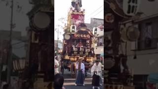 2017年7月20日 上熊谷駅前で荒川区の「注連縄切り」の儀式が行われまし...