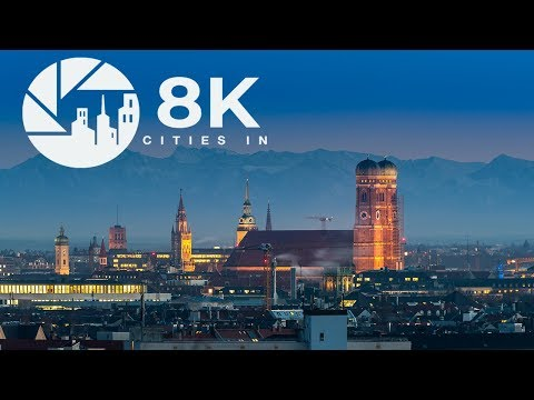 Munich in 8K