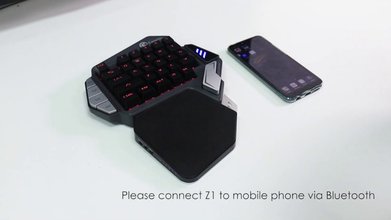 Tutorial | How To Upgrade The GameSir Z1 via FPS DOCK on Android