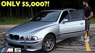 Here's How Much BMW E39 M5 You Get For $5k *CHEAPEST IN THE COUNTRY*