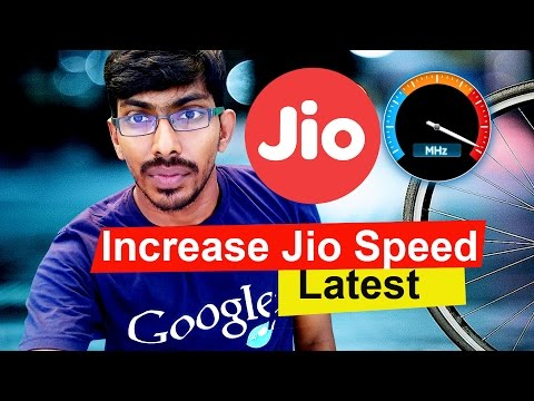 How to Increase JIO Internet Speed Very Fast Latest - Tamil Techguruji