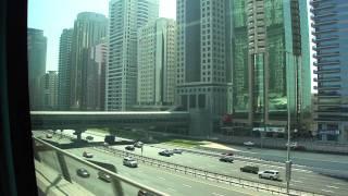 Sheikh Zayed Road - Emirates Towers Metro Station - Dubai