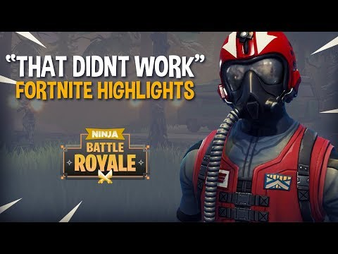 """That Didnt Go As Planned"" - Fortnite Battle Royale Highlights - Ninja"