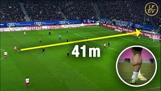 Beautiful Long Shot Goals in Football