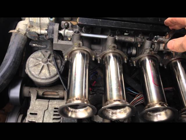 bmw m42 1800cc itb's from an e36 m3 almost straight fit