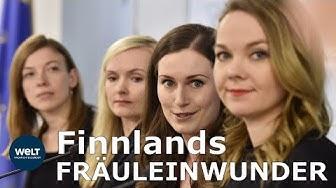 SANNA MARIN & CO.: Finnen vertrauen ihren jungen Frauen
