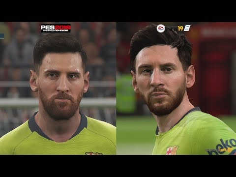 FIFA 19 Vs PES 2019 Graphics Comparison: Which One Looks Better? [4K/60fps]