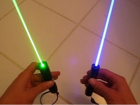 Blue Lasers vs Green Lasers Which are Better  YouTube