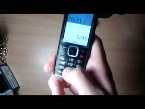 Обзор Nokia x2-00