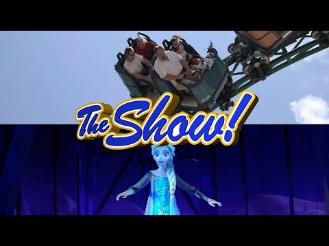 Attractions - The Show - Cobra's Curse; new attractions montage; latest news - June 23, 2016