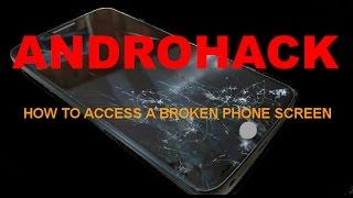 Kırık bozuk ekranlı android telefondan veri kurtarma