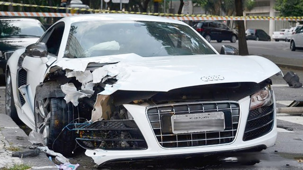 Latest Car Accident Of Audi R8 Road Crash Compilation Traffic Auto 2016 2017 2018 You
