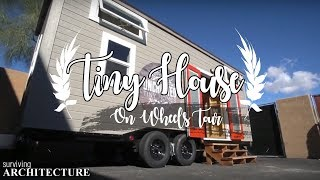Modern Tiny House With Double Loft On Wheels - Tiny House Tour